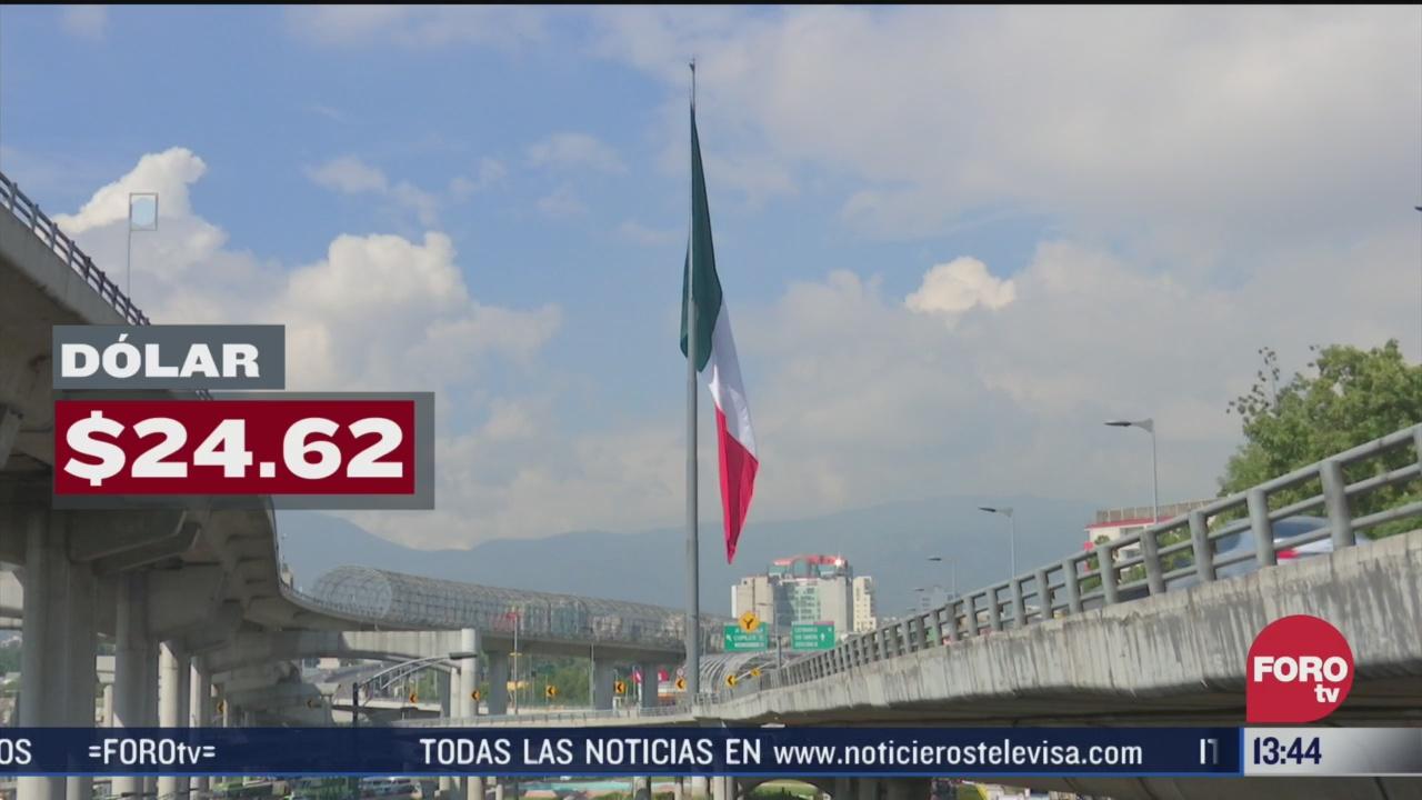 FOTO: peso mexicano cae a un nuevo minimo nivel historico