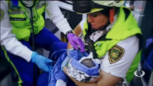 Foto: Video Rescatan Bebé Construcciones Cdmx Hoy 3 Marzo 2020