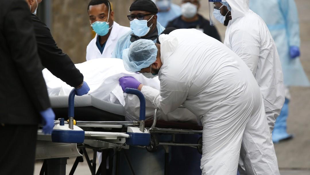 Foto: EEUU supera a China en cifra de muertos por coronavirus