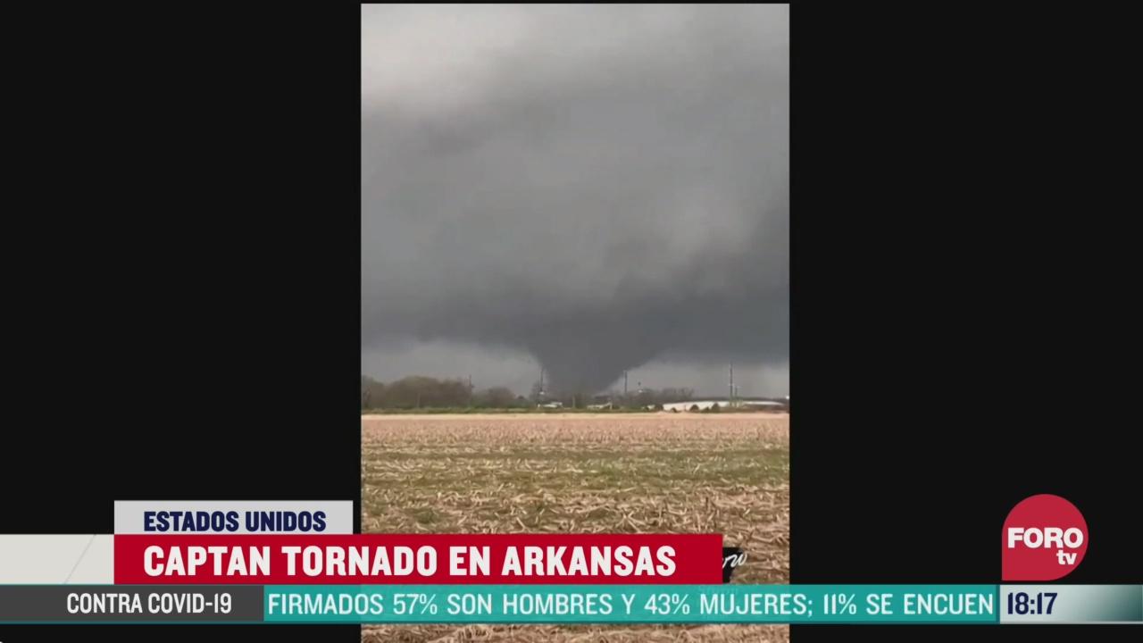 FOTO: 28 marzo 2020, tornado causa danos materiales en arkansas estados unidos