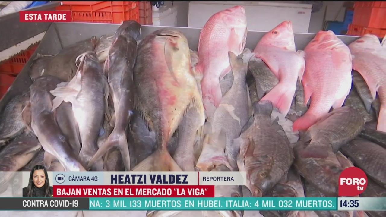 FOTO: ventas por cuaresma en la viga bajan hasta 50 por coronavirus