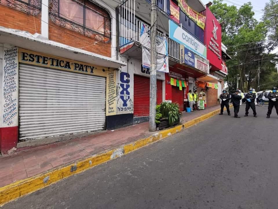 Coronavirus:Cuajimalpa llama con alerta sísmica a cuarentena
