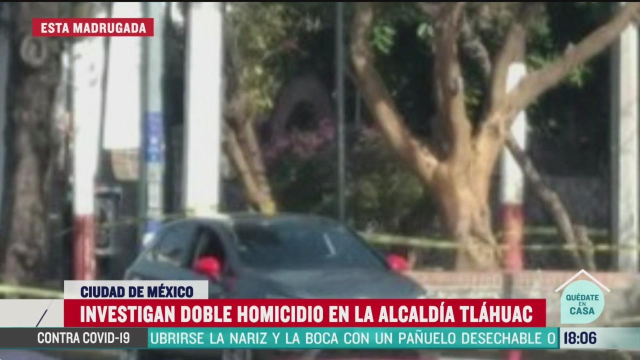 FOTO:12 de abril 2020, asesinan a dos hombres cerca de plaza centenario en tlahuac