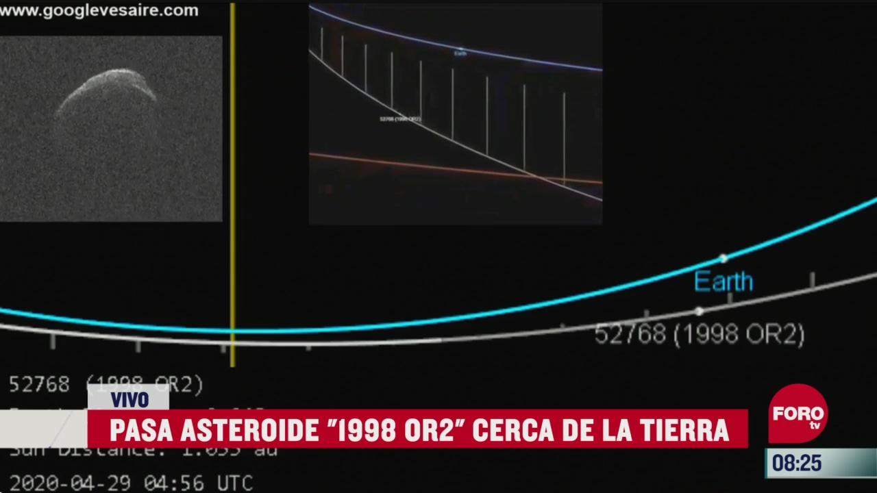asteroide 1998 ors pasa cerca de la tierra