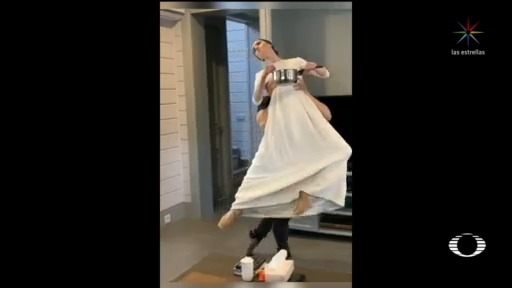 Foto: Bailarines De Ballet Rusos Comparten Videos Graciosos Desde Sus Casas 10 Abril 2020