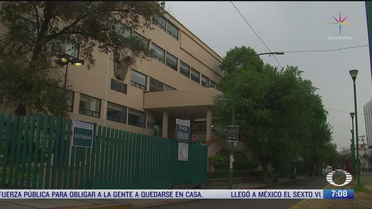 comienza saturacion de hospitales en mexico