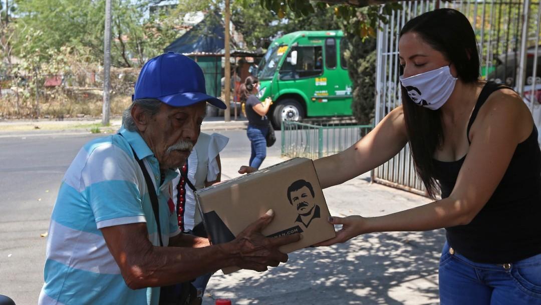 Foto: El presidente Andrés Manuel López Obrador critica que integrantes de la delincuencia entreguen despensas en medio de la contingencia por coronavirus