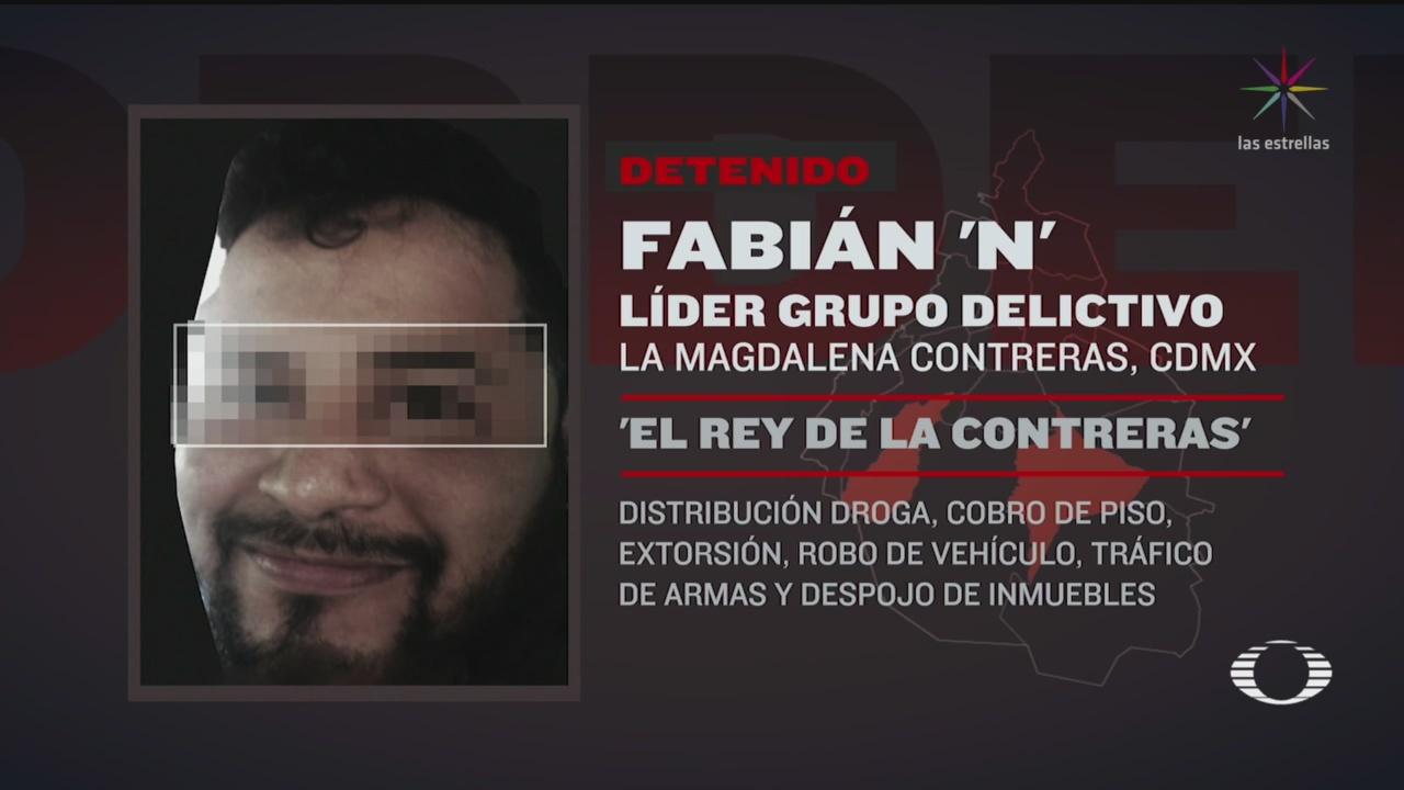 Foto: Detienen a 'El Frontón', presunto responsable de saqueos en el sur de la CDMX 2 Abril 2020