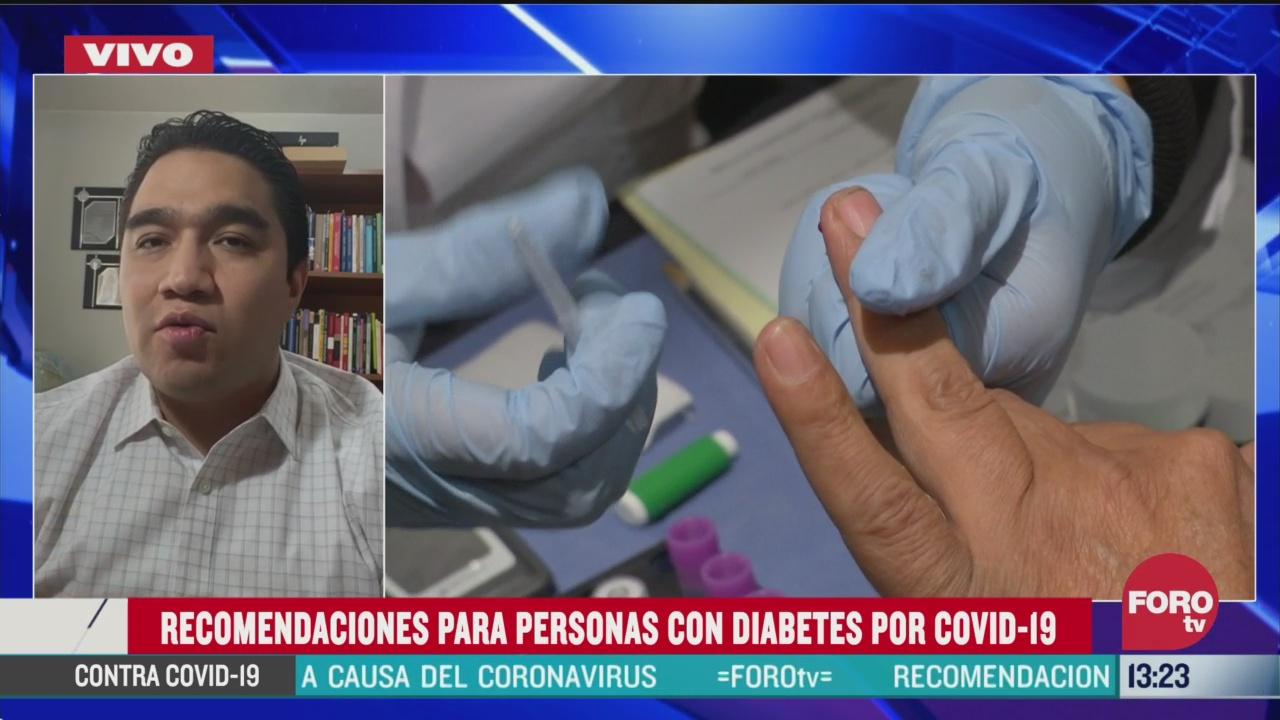 FOTO: el coronavirus y la diabetes
