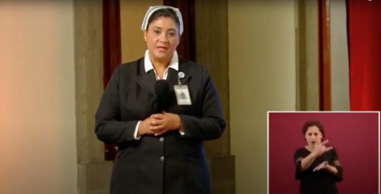 Enfermera-IMSS-Llora-Video-Jefa-Enfermeras-Fabiana-Zepeda-Conferencia-Vespertina-Lopez-Gatell-López-Coronavirus-Mexico, Ciudad de México, 20 de abril 2020