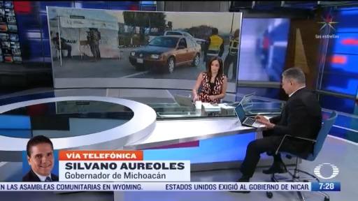 entrevista con el gobernador de michoacan para despierta