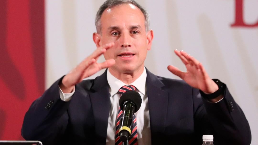 Foto: Hugo López-Gatell, subsecretario de Salud. Efe