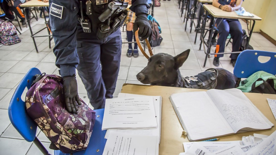 Foto: Operativo Mochila en escuelas de México. Cuartoscuro/Archivo