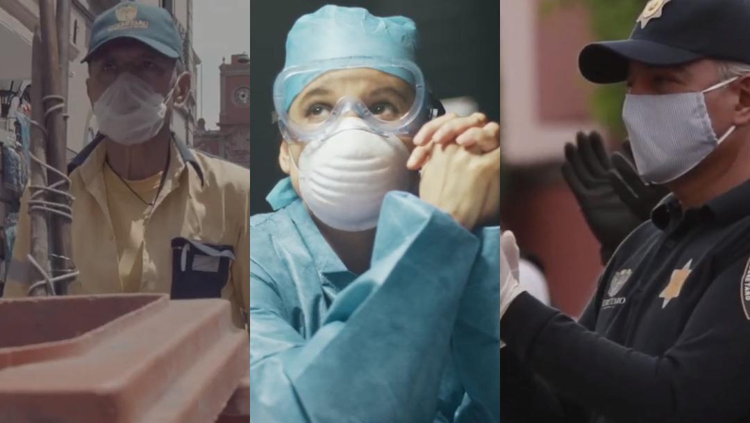 Gobierno de Querétaro crea video ante lucha por coronavirus