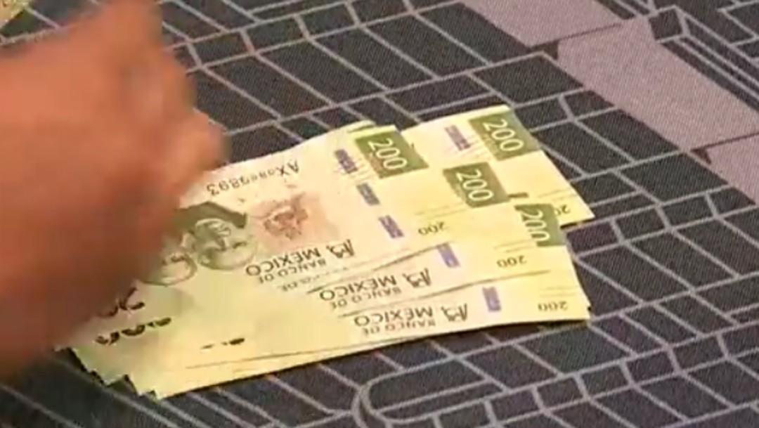 Billetes de doscientos pesos