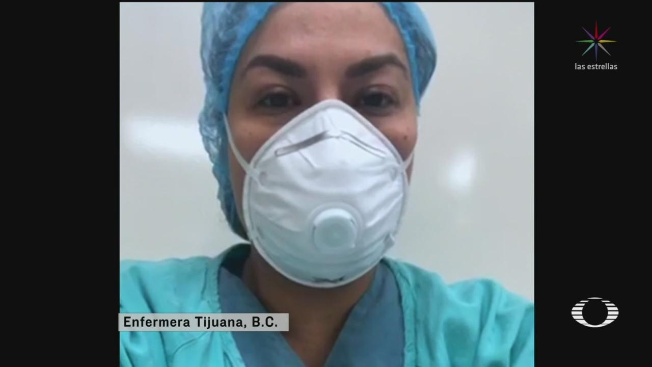 Foto: Coronavirus Tijuana Médicos Compran Propio Equipo Protección 14 Abril 2020