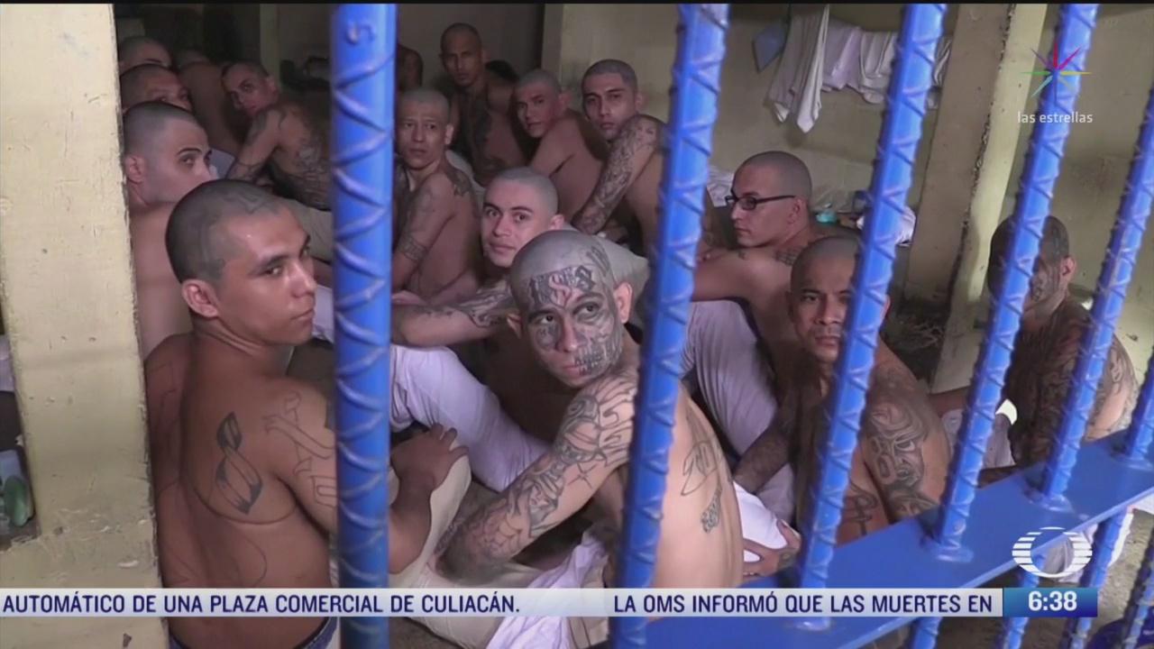 presidente de el salvador ordena sellar celdas de maxima seguridad