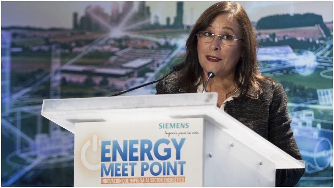 Imagen: Rocío Nahle celebró al acuerdo al que se llegó con la OPEP, 12 de abril de 2020 (CUARTOOSCURO)