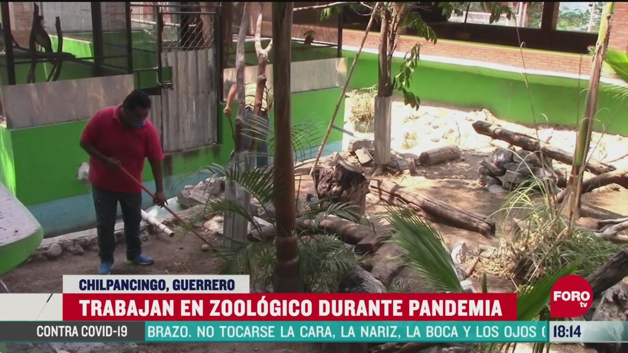 FOTO:19 de abril 2020, se cumple casi un mes del cierre de zoologico en chilpancingo