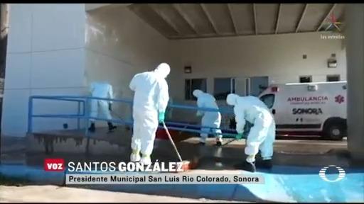 Foto: Coronavirus Suspenden Servicios Hospital General Sonora 21 Abril 2020