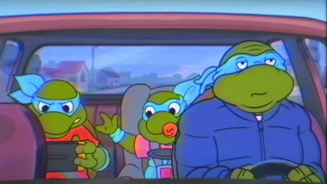 Tortugas-Ninja-TMNT-SNL-Saturday-Night-Live-Coronavirus-Cuarentena-Tom-Hanks-Adultas-Video-Comedia-Parodia, Ciudad de México, 13 de abril 2020
