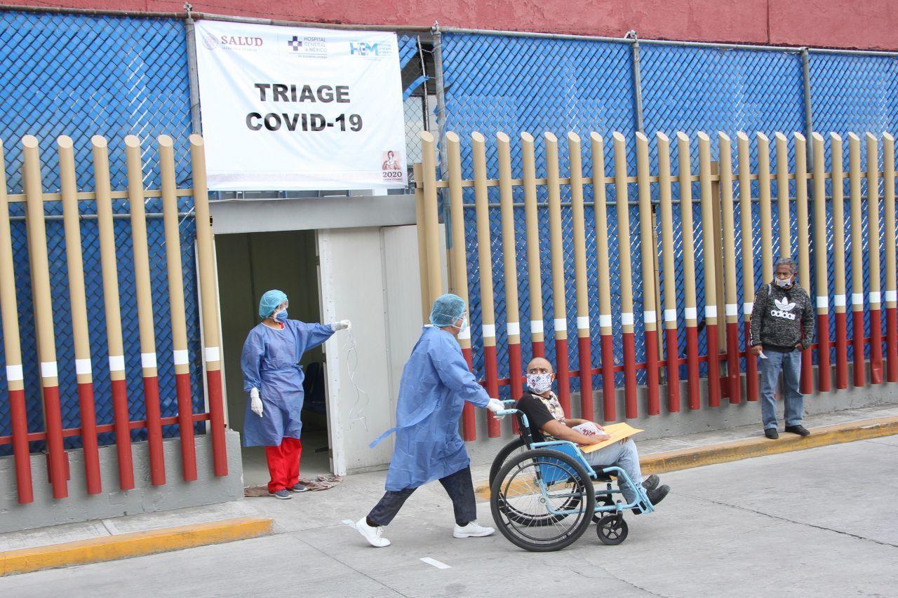 Coronavirus-Mexico-Triage-ignificado-Urgencias-Respiratorio-Imss-Que-es-Hospitalario-significa, Ciudad de México, 12 de abril 2020