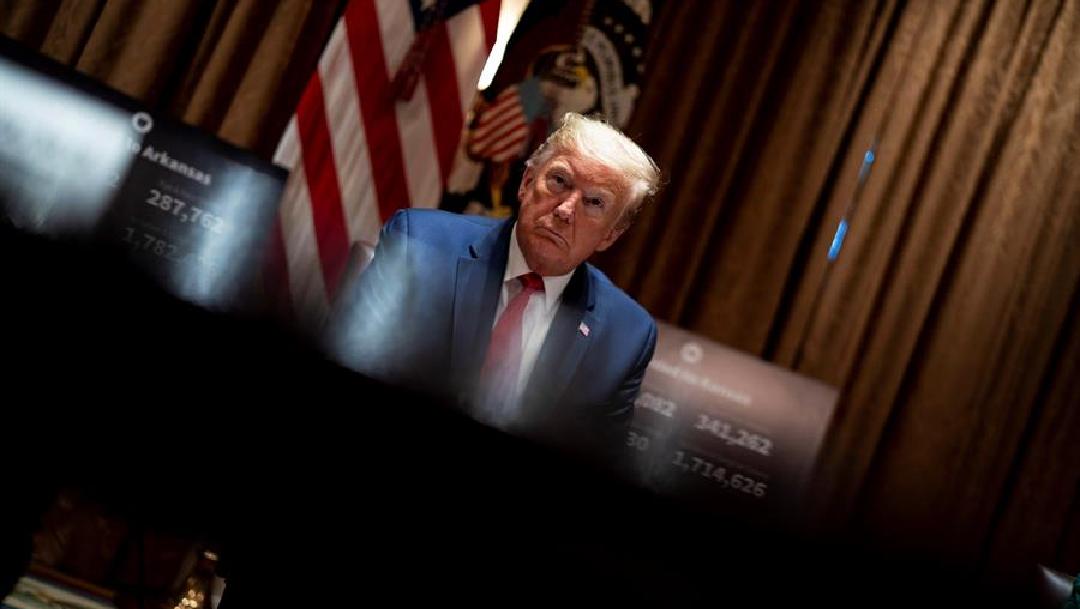Foto: Trump dejará de tomar hidroxicloroquina, un medicamento no probado contra el coronavirus, 20 de mayo de 2020, (EFE)