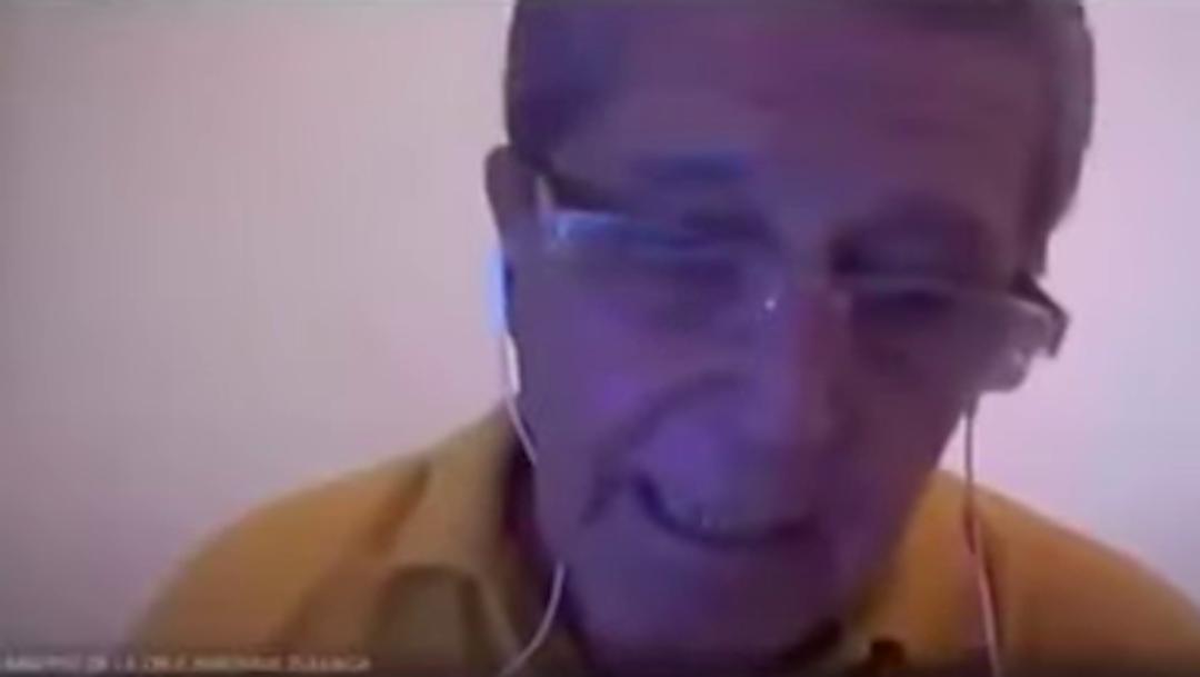 Foto Video: Maestro argentino sufre broma de sus alumnos durante clase en línea 12 mayo 2020