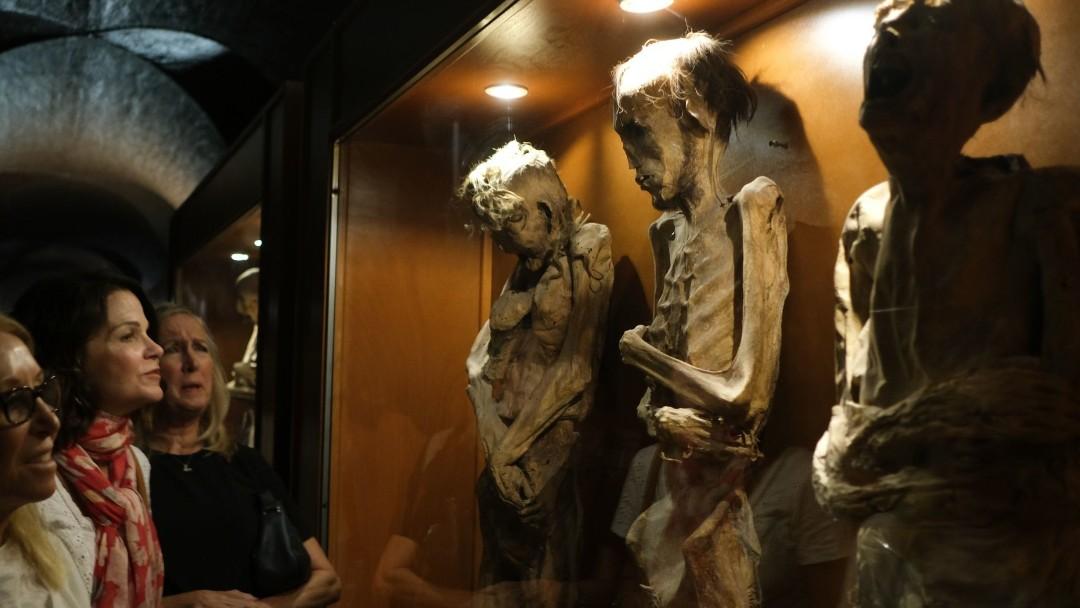 Museo de las Momias de Guanajuato. Cuartoscuro/Archivo
