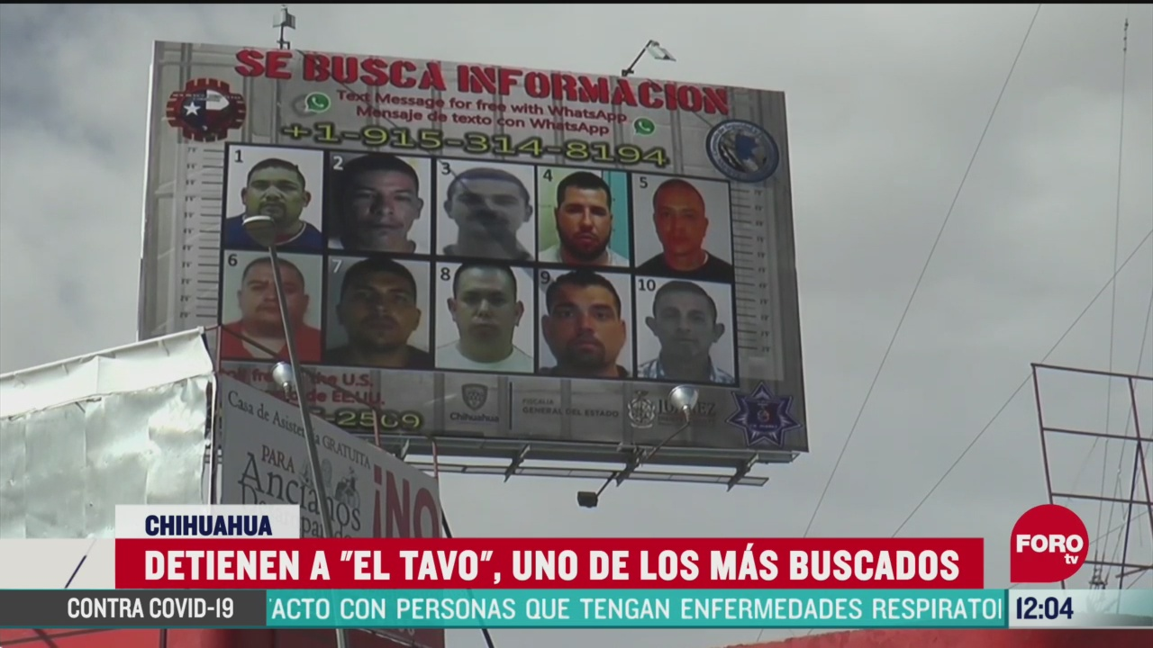 detienen a el tavo uno de los principales generadores de violencia en ciudad juarez