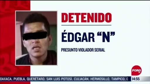 detienen a presunto violador serial en cdmx