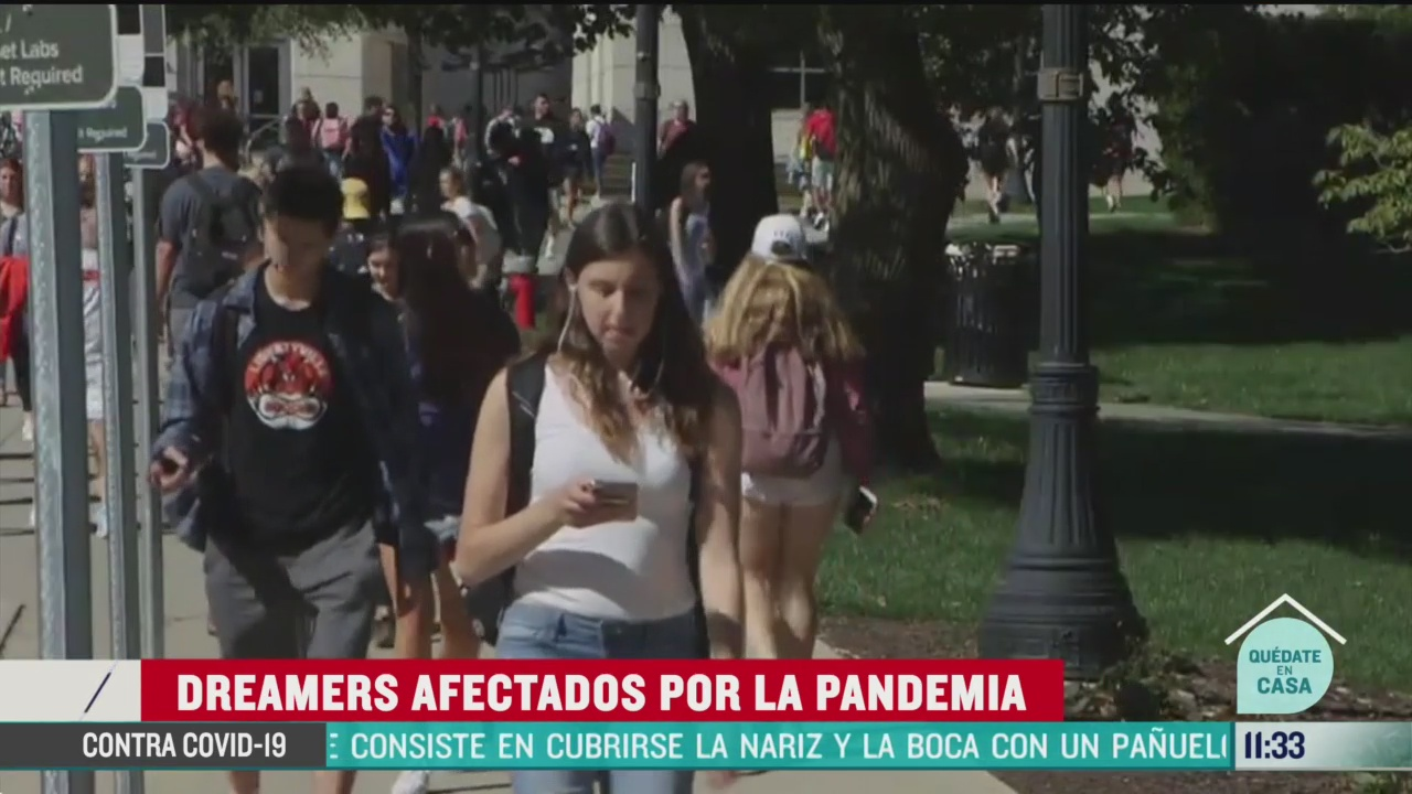 dreamers afectados por la pandemia