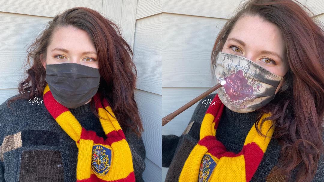 Cubrebocas 'mágico' de Harry Potter fascina a redes sociales