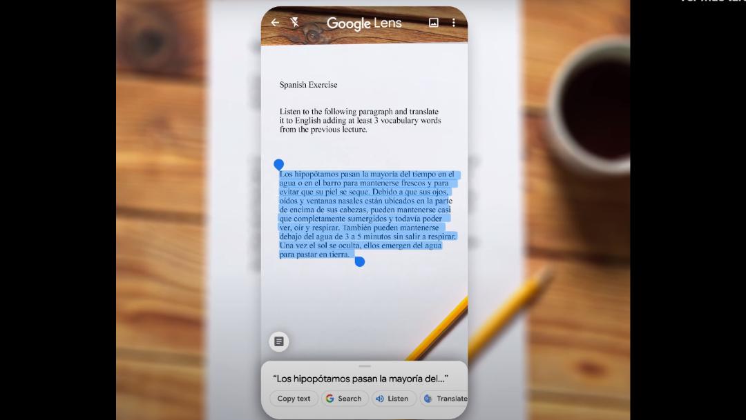 ¿Cómo digitalizar textos escritos a mano con Google Lens?