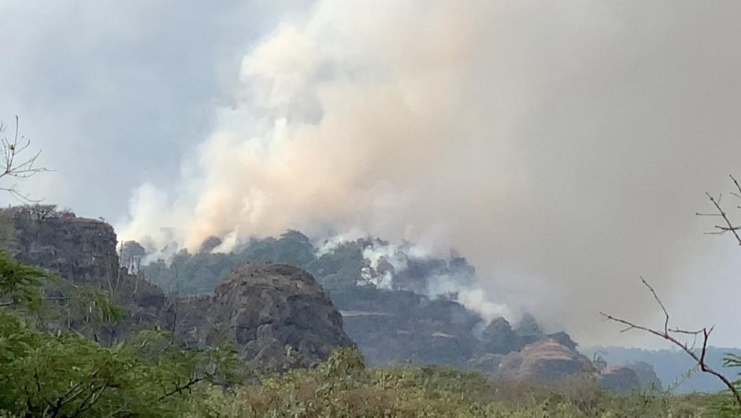 Grabar-TikTok-incendio-forestal-Tepoztlan-accidente