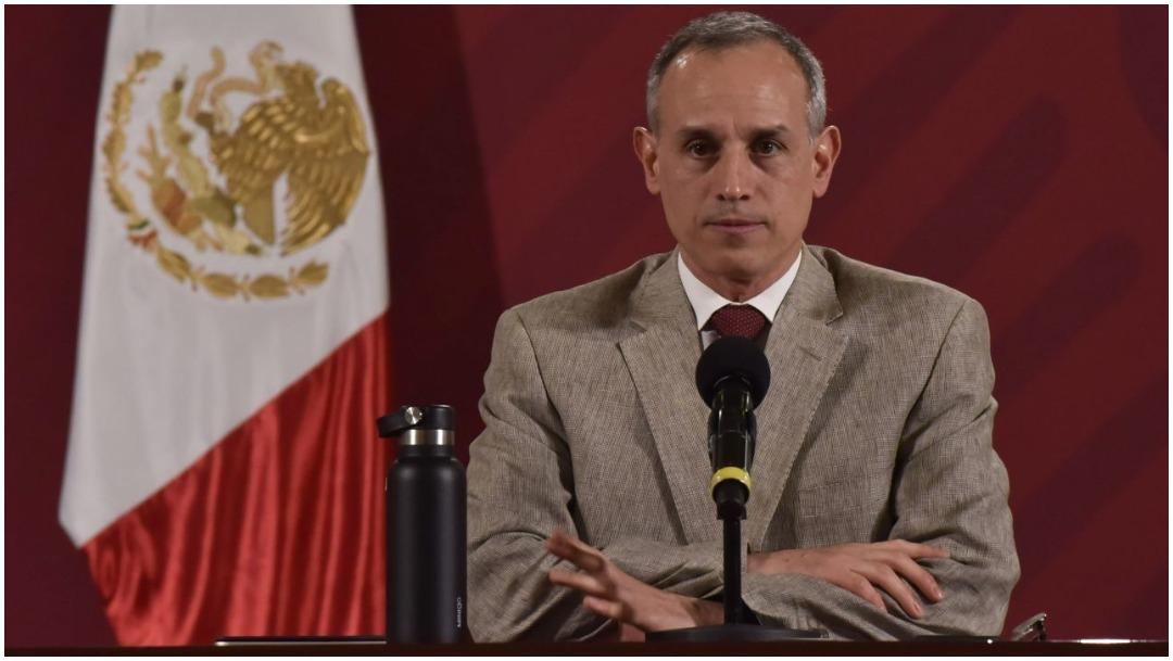Foto: Hugo López-Gatell habló de la cancelación de la Liga MX, 23 de mayo de 2020 (MARIO JASSO /CUARTOSCURO.COM)
