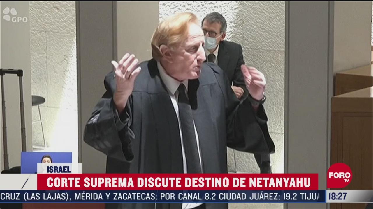 FOTO: 3 de mayo 2020, inician en israel debate sobre proceso judicial sobre benjamin netanyahi