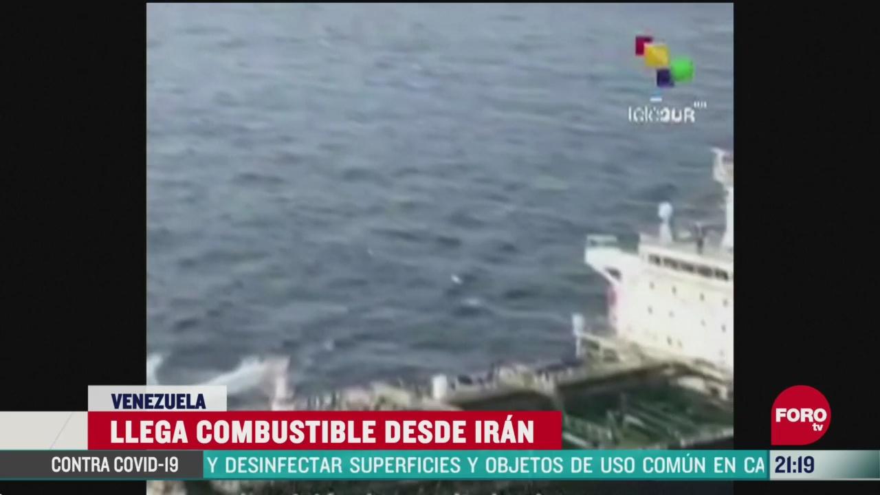 FOTO: 24 de mayo 2020, llega a venezuela el primero de cinco buques tanques de iran