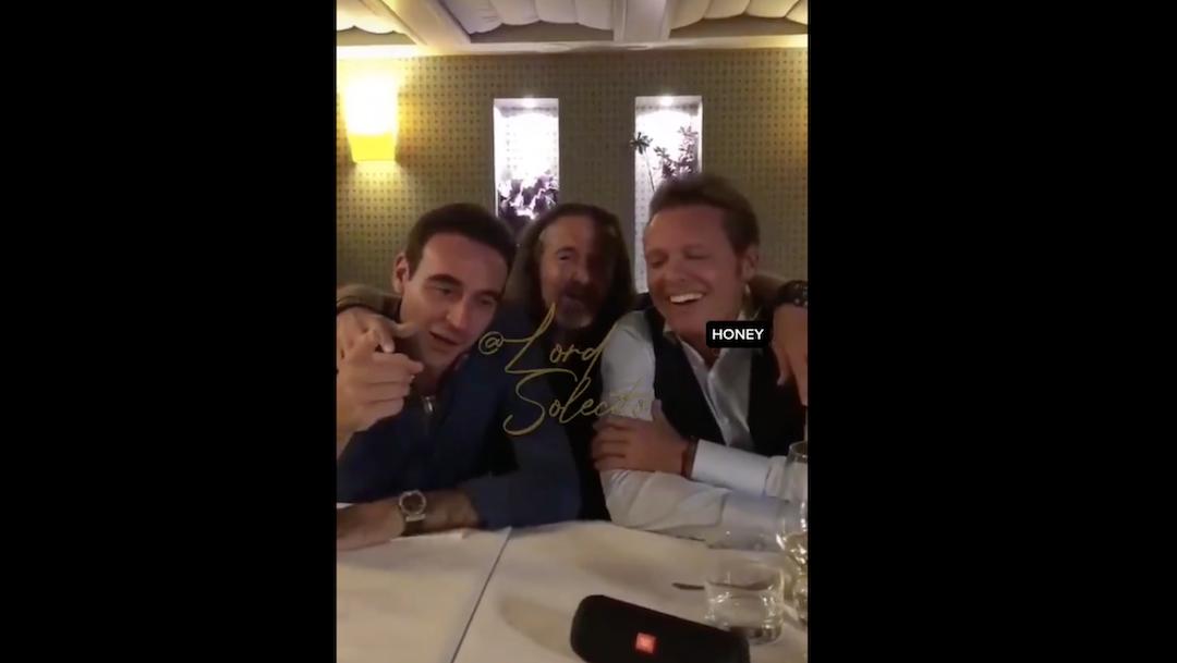 TikTok Luis Miguel Video Aparece Amigos Cantando Foto