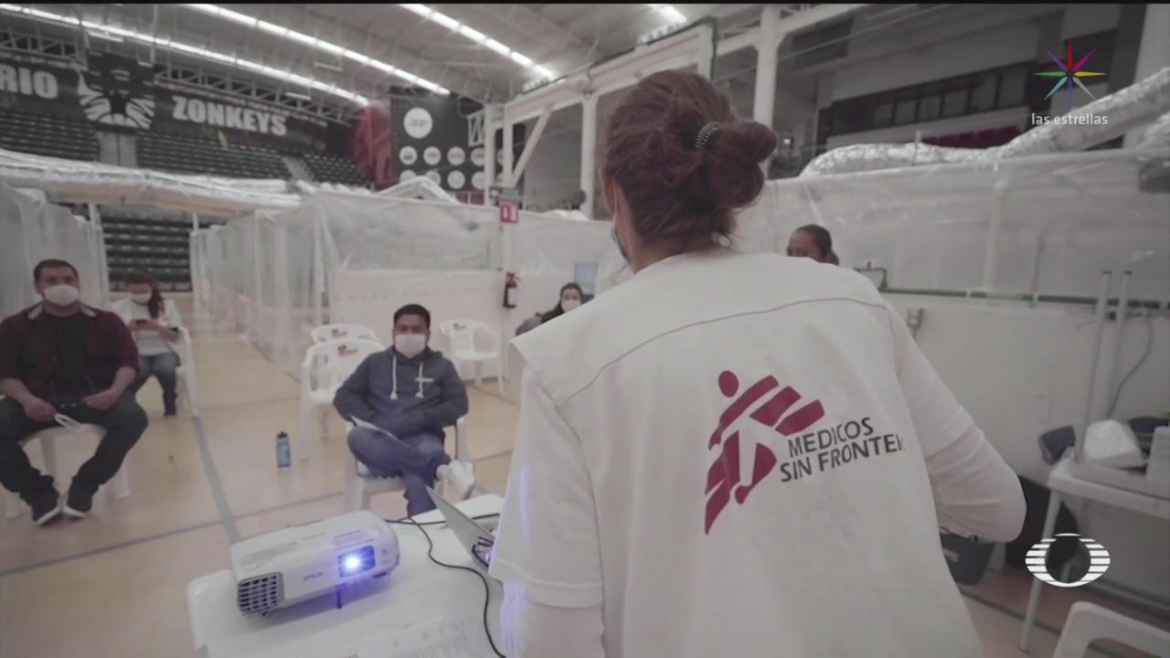 Foto: Médicos Sin Fronteras Habilita Servicio Pacientes Coronavirus Tijuana 15 Mayo 2020