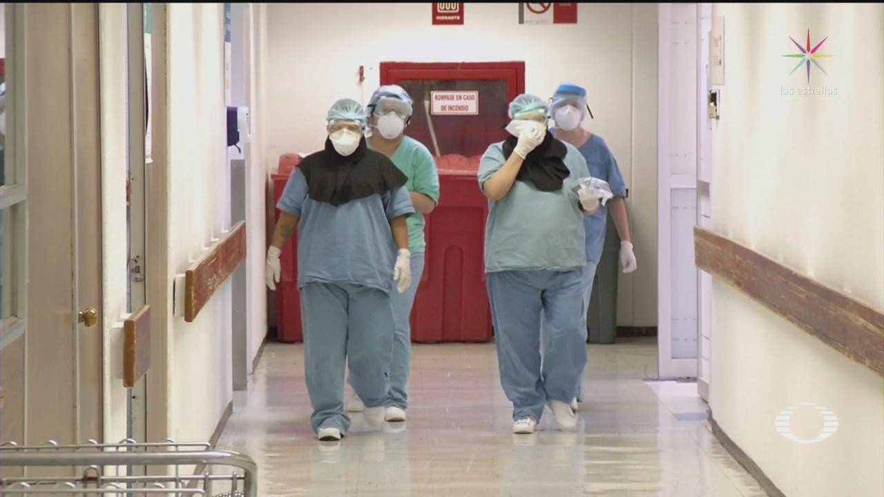Foto: Médicos Y Enfermeras Buscan Ayuda Psicológica 8 Mayo 2020