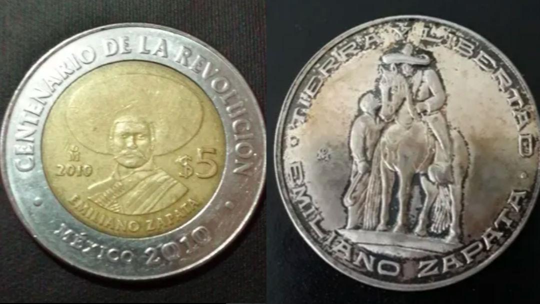 Foto ¿Tienes monedas antiguas de Emiliano Zapata? Ahora valen miles de pesos 7 mayo 2020