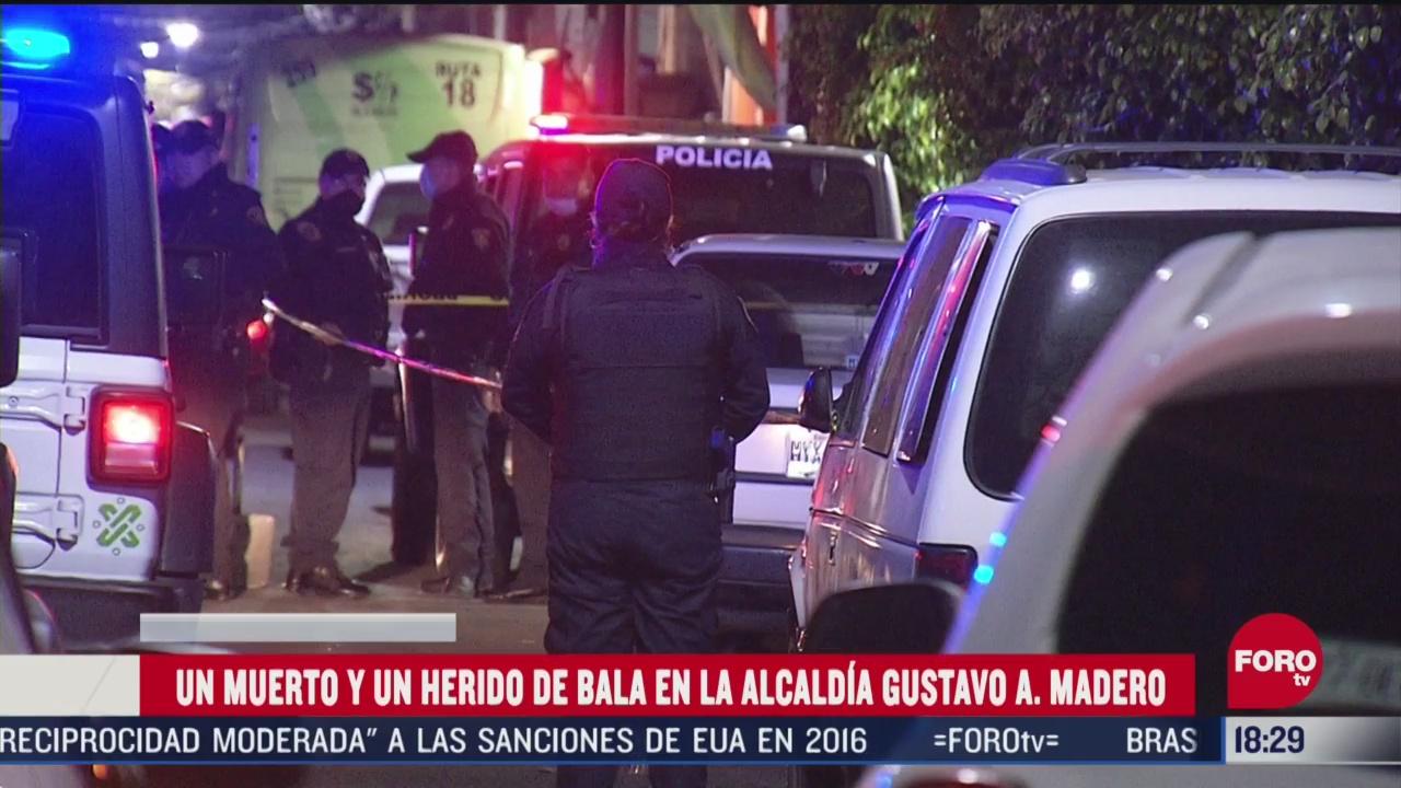 FOTO: 30 de mayo 2020, muere hombre por herida de bala en la gustavo a madero