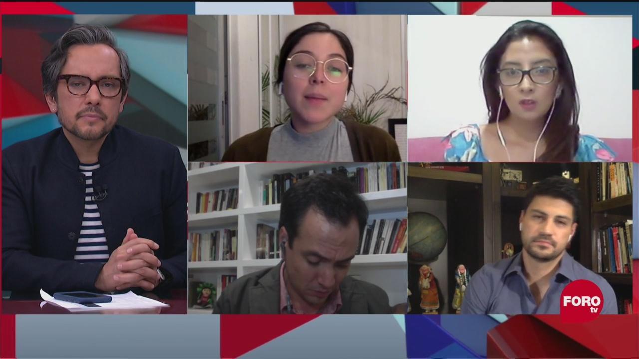 Foto: Reacciones a la entrevista de Roberta Jacobson 5 Mayo 2020