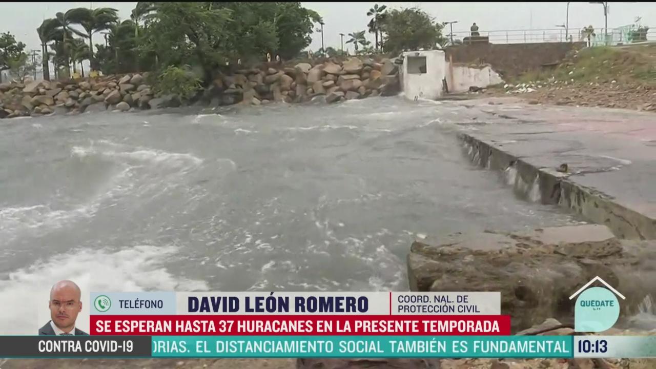 FOTO: 17 de mayo 2020, recomendaciones de proteccion civil ante temporada de huracanes
