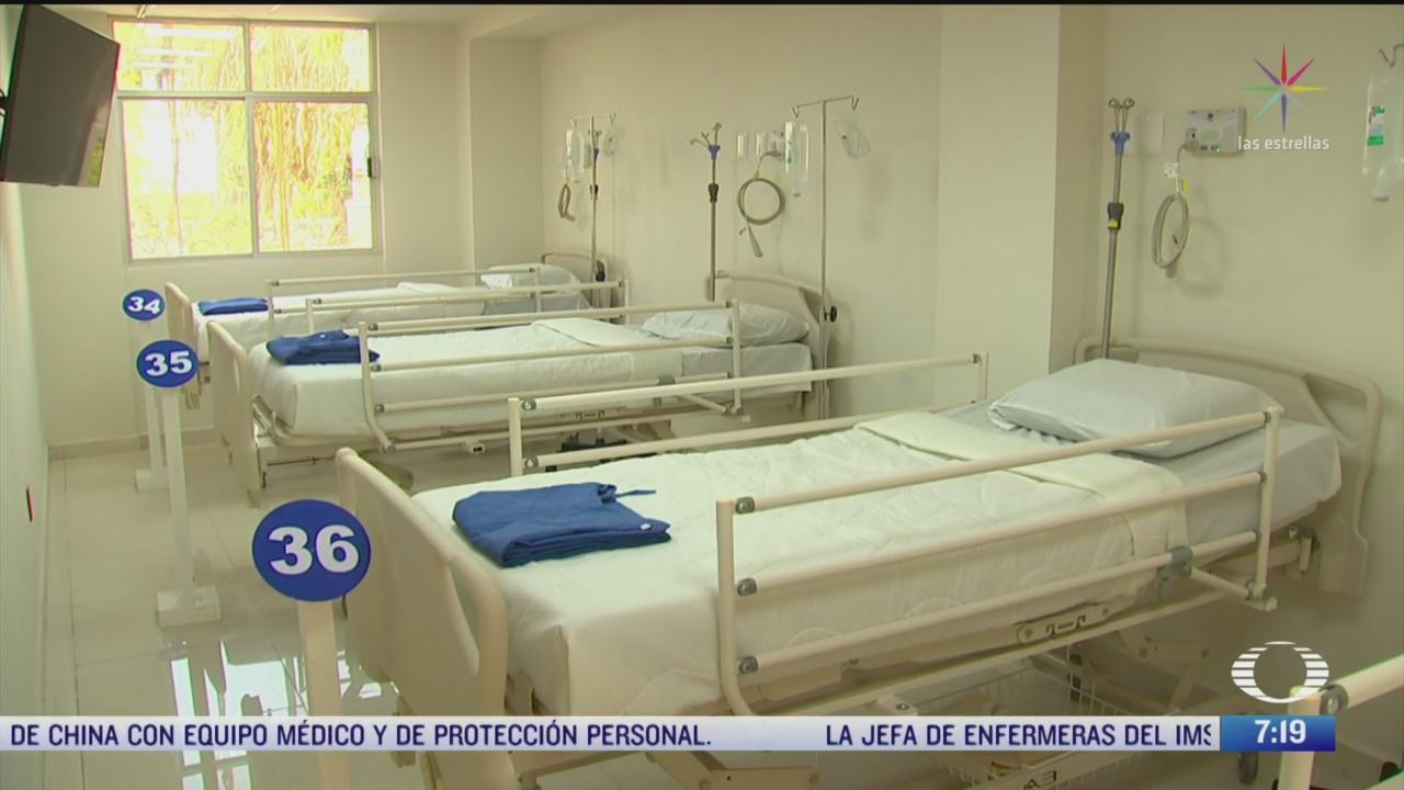sedena reconstruye hospital en morelos para pacientes con coronavirus