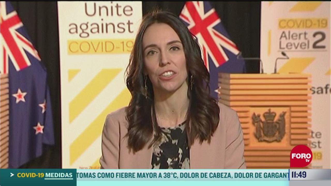 sismo interrumpe entrevista a primera ministra de nueva zelanda