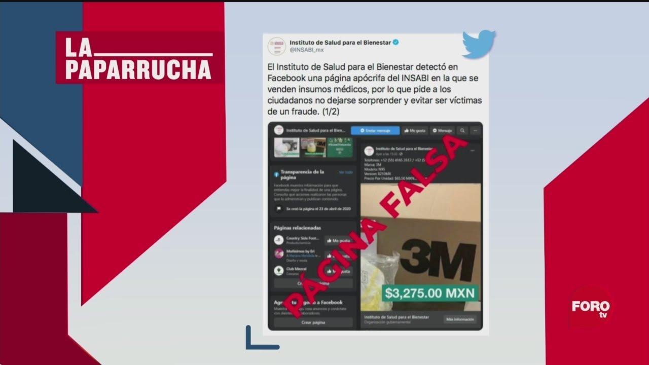 Foto: Venta De Equipo Médico En Insabi Es Fraude 30 Abril 2020