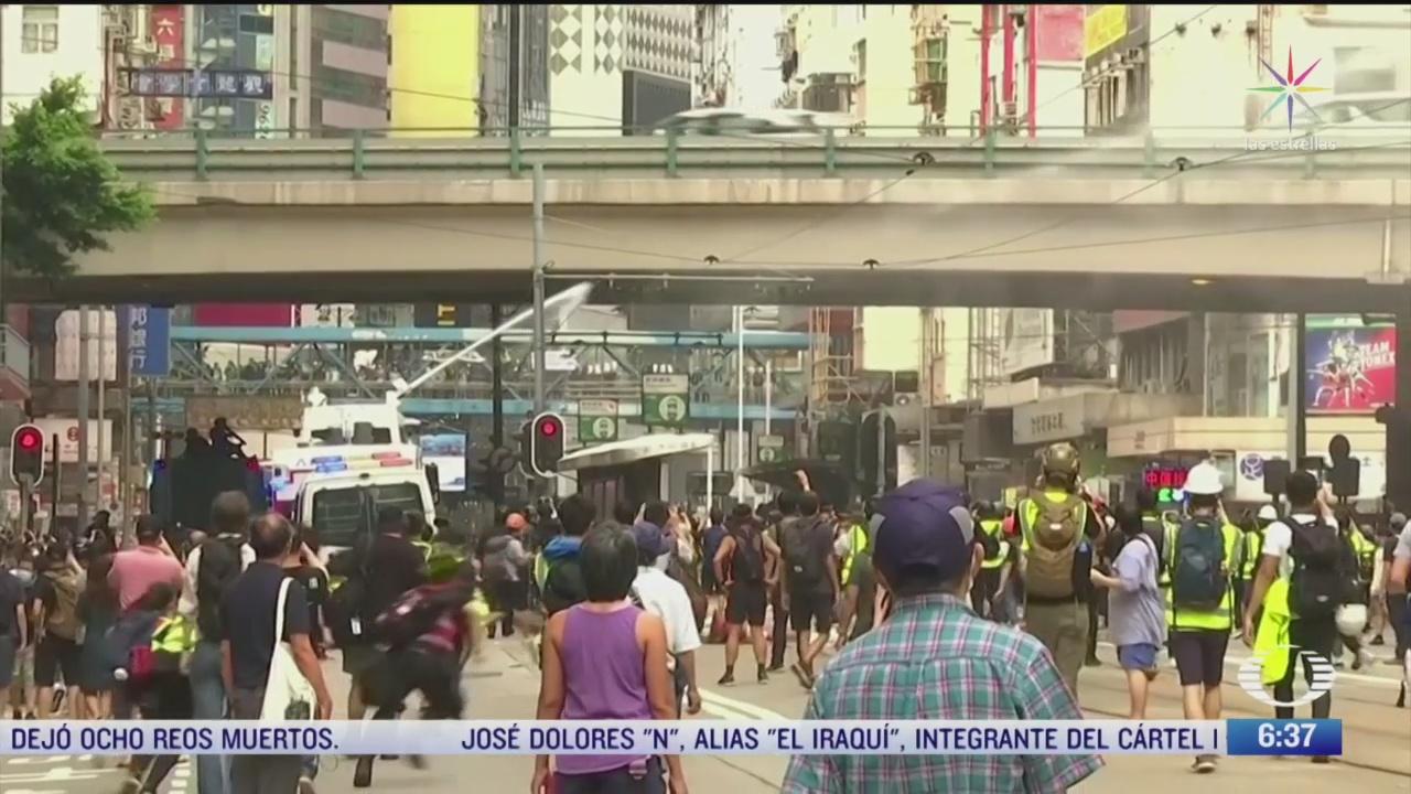 vuelven las protestas a hong kong
