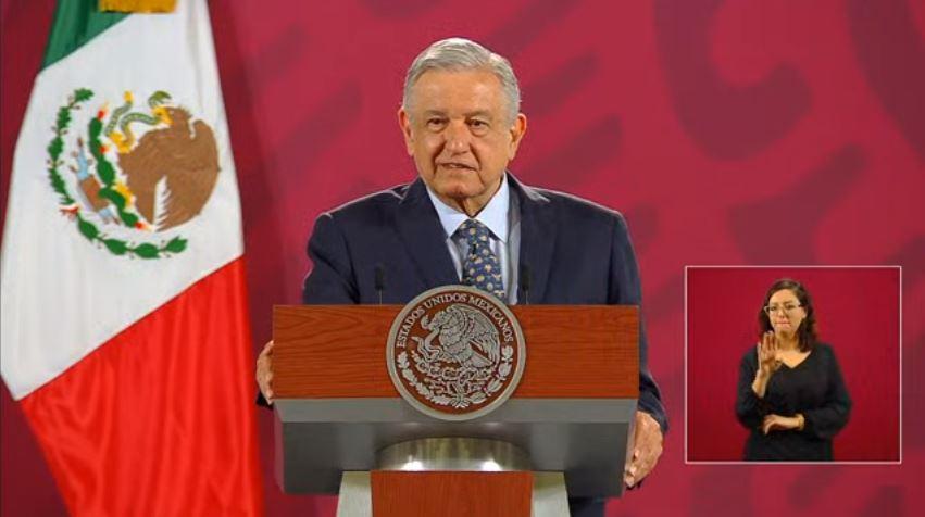 Andrés Manuel López Obrador, presidente de México, durante la conferencia. (Foto: Gobierno de México)
